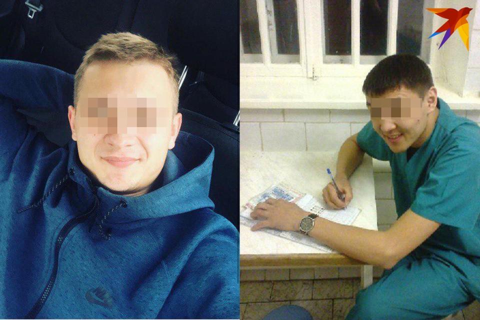 Андрей (слева) и Рушан будут уволены из больницы. Фото: соцсети.