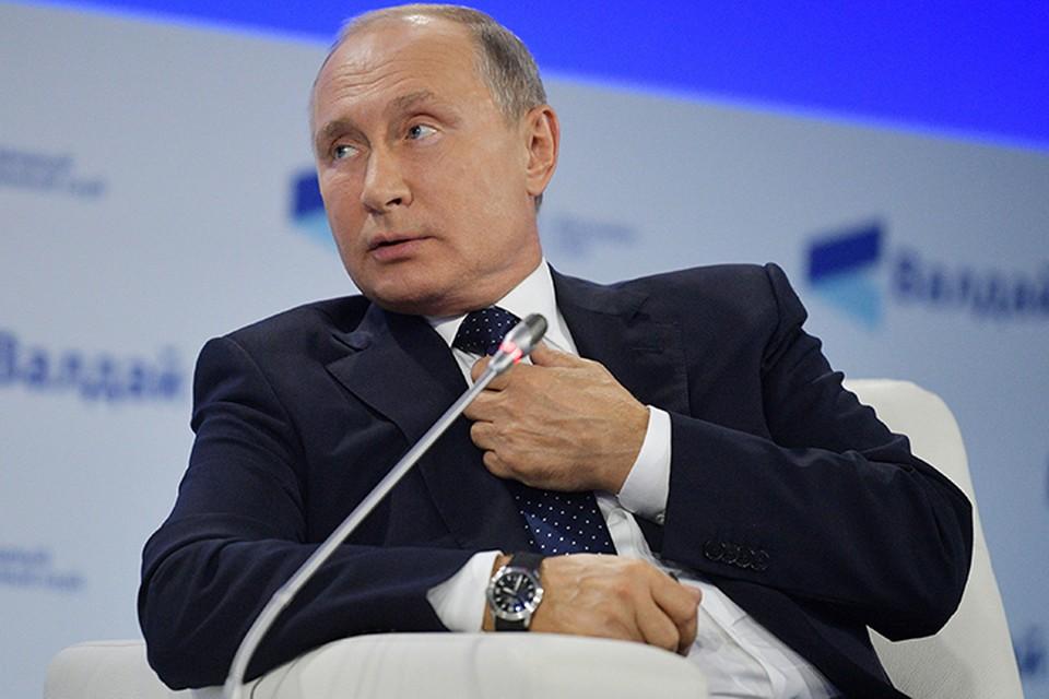 Путину пришлось отдуваться одному за всех