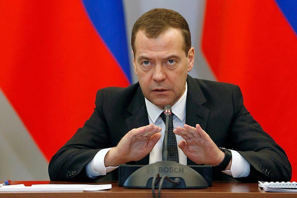 Премьер-министр РФ Дмитрий Медведев. Фото: Дмитрий Астахов/пресс-служба правительства