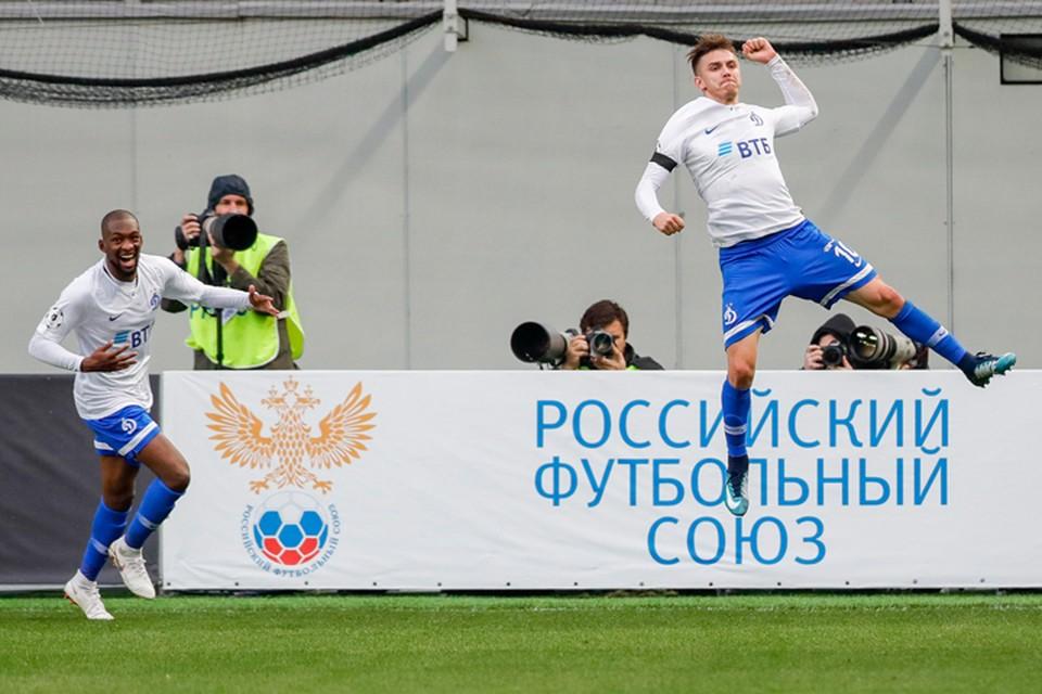 Исход поединка решил единственный гол в конце матча. Фото: Михаил Джапаридзе/ТАСС