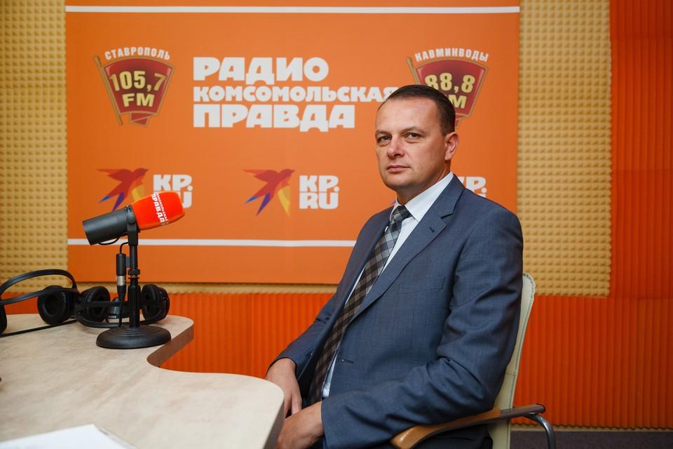 Главный инженер АО «Газпром газораспределение Ставрополь» Алексей Александров
