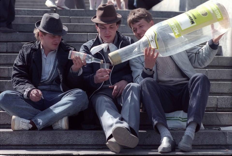 продажи водки выросли в стране