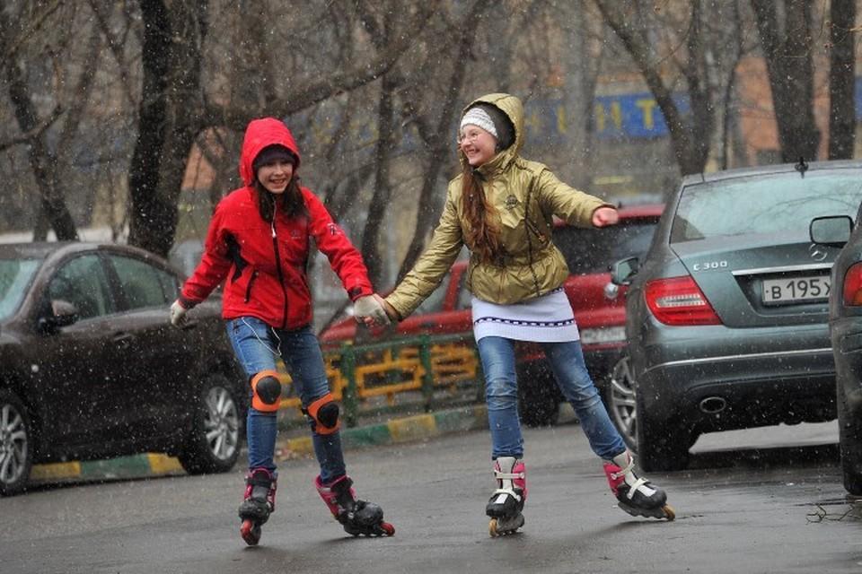 В понедельник, 29 октября, в Москве пройдет снег с дождем