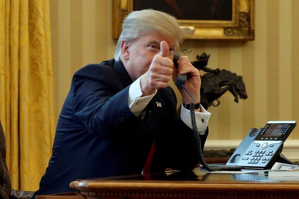 Президент США Дональд Трамп позвонил избранному президенту Бразилии Жаир Болсонару, чтобы поздравить его с победой на выборах