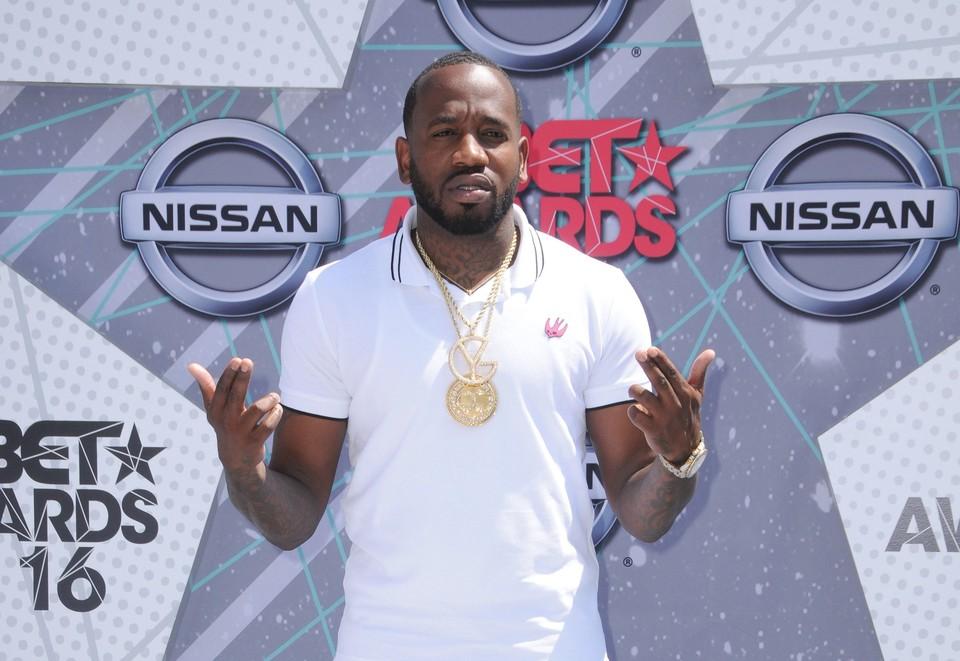 Американский рэп-исполнитель Young Greatness (настоящее имя Теодор Джонс)