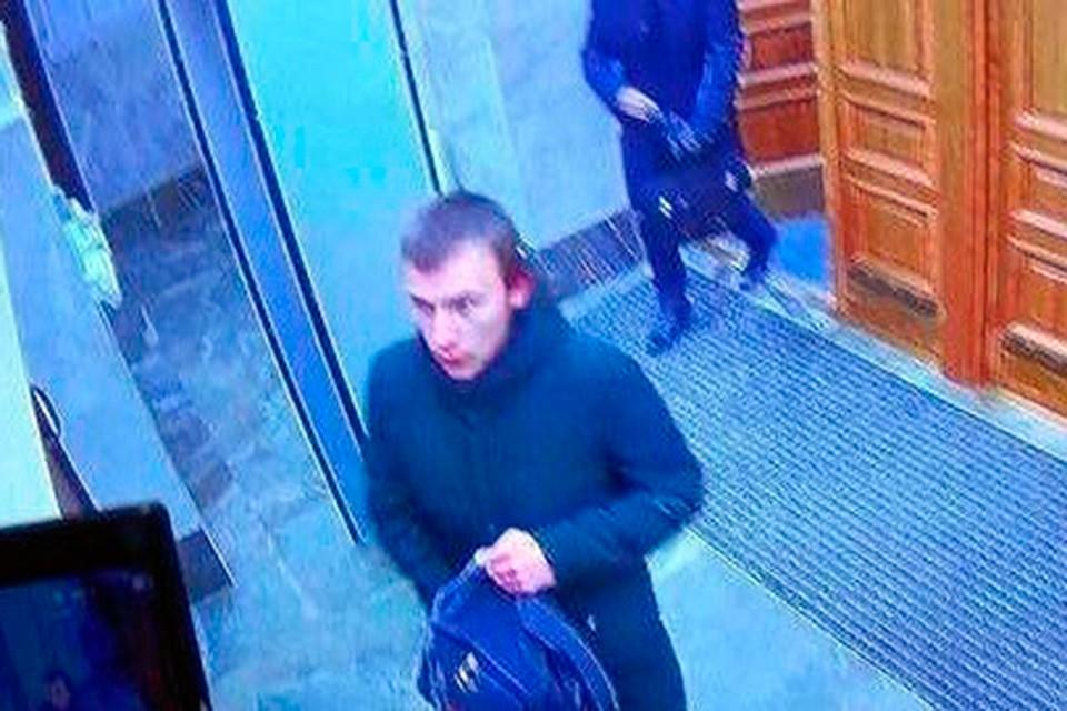 Фото предполагаемого преступника, взорвавшего здание ФСБ в Архангельске. Фото: СУ СКР РФ