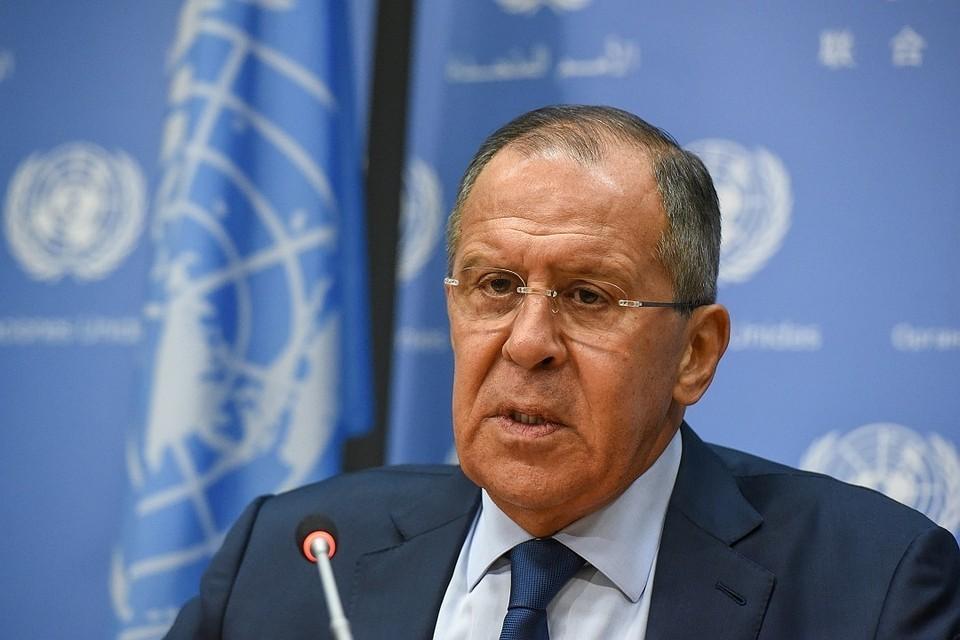Глава МИД РФ Сергей Лавров проведет переговоры с главой МИД Испании 6 ноября