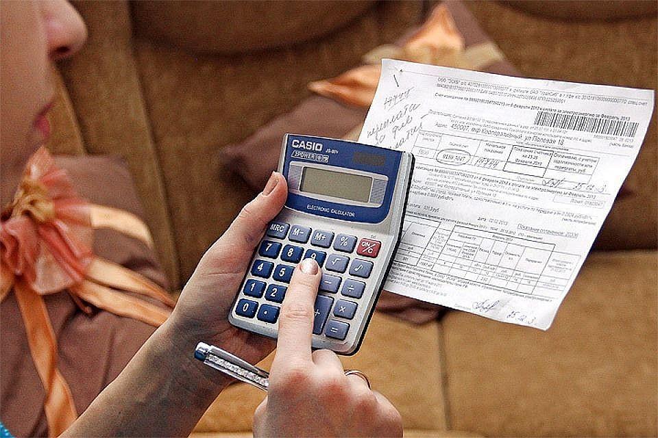 Российским семьям приходится отдавать за коммунальные платежи в среднем по 5 тысяч рублей