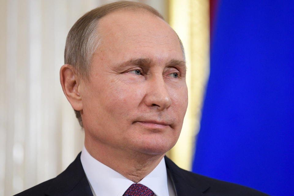 Президент РФ Владимир Путин. Фото: Алексей Дружинин ТАСС