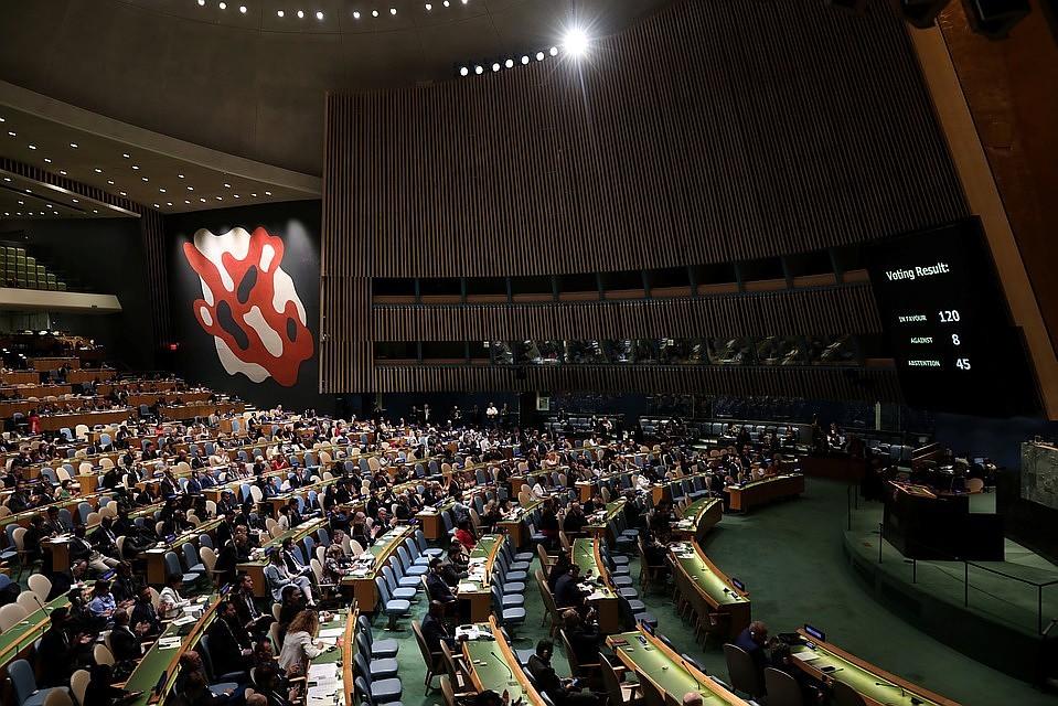 Резолюцию ООН против героизации нацизма не поддержали США и Украина