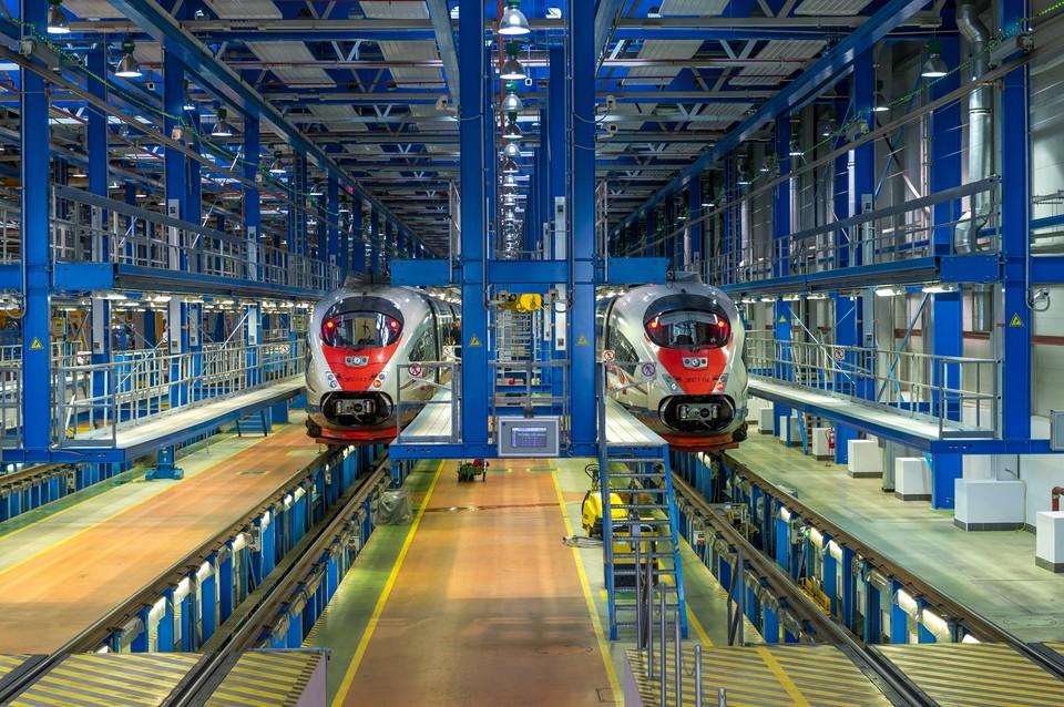 «Российские железные дороги» представят концепт первого российского высокоскоростного поезда