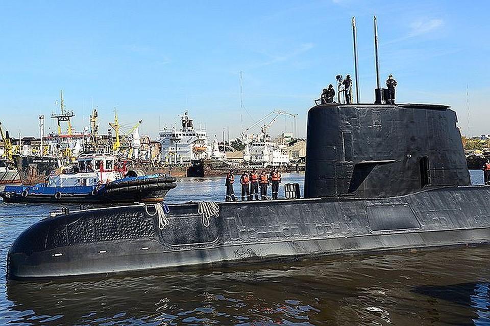 """На борту """"Са-Хуана"""" находились 44 моряка, в том числе первая в истории страны женщина-подводник"""