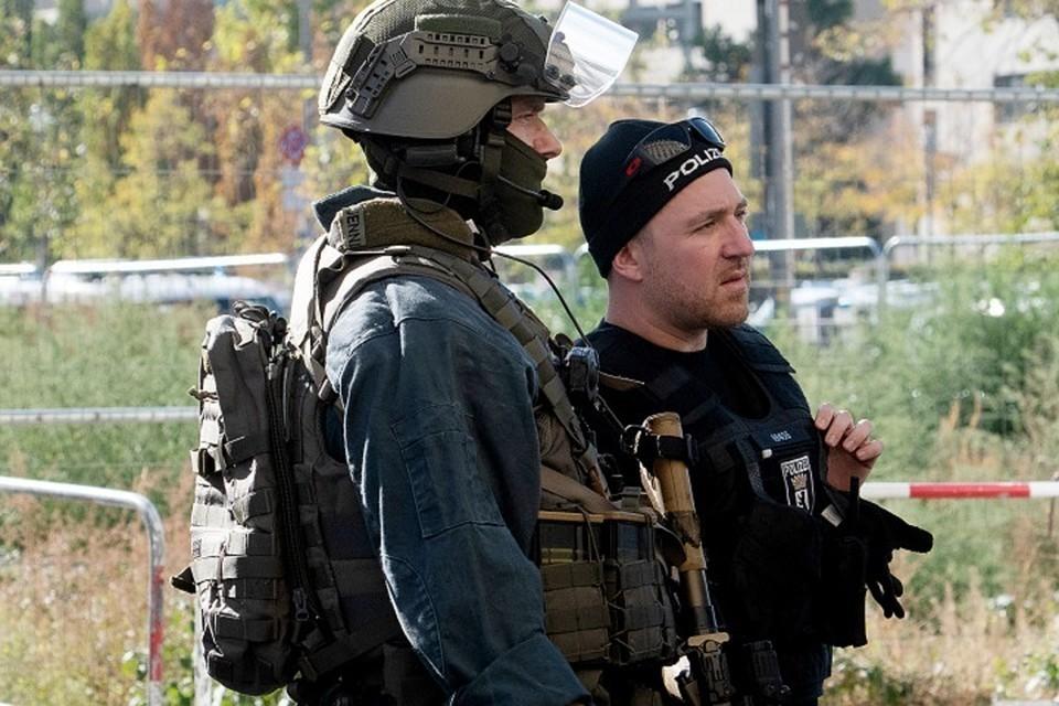 В Германии прошли масштабные антитеррористические учения.