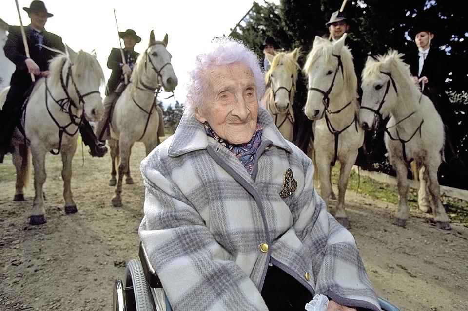 Жак Ширак называл Жанну Кальман бабушкой каждого француза. ФОТО: Sygma via Getty Images
