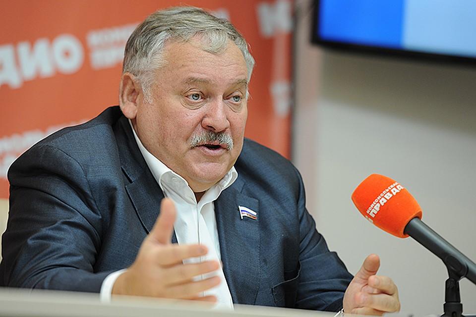 Константин Затулин провел пресс-конференцию в ИД «Комсомольская правда»