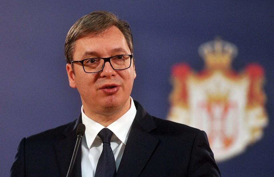 Президент Сербии переговорил с еврокомиссаром по телефону Фото: администрация президента Сербии