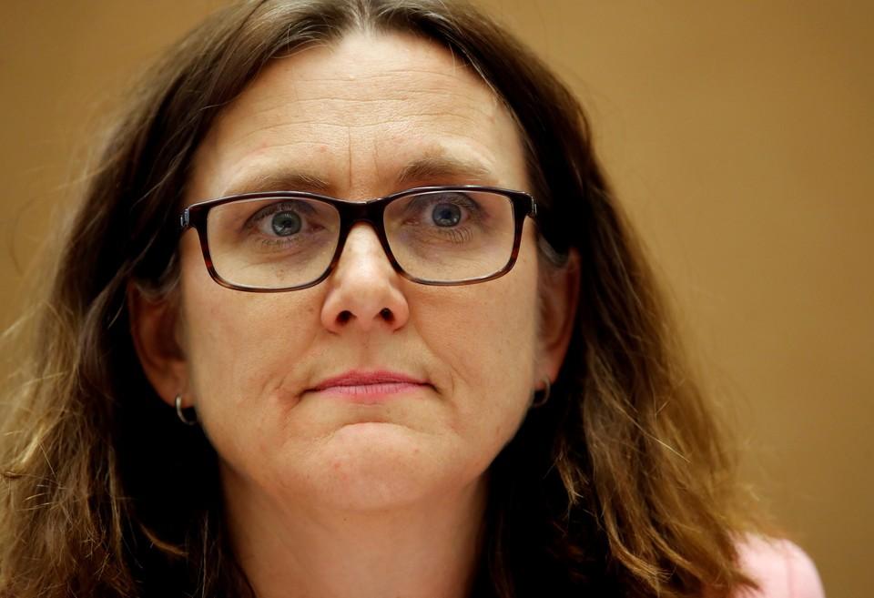 Еврокомиссар Сесилия Мальмстрем заявила, что в ближайшее время невозможно заключить торговое соглашение между Евросоюзом и США.