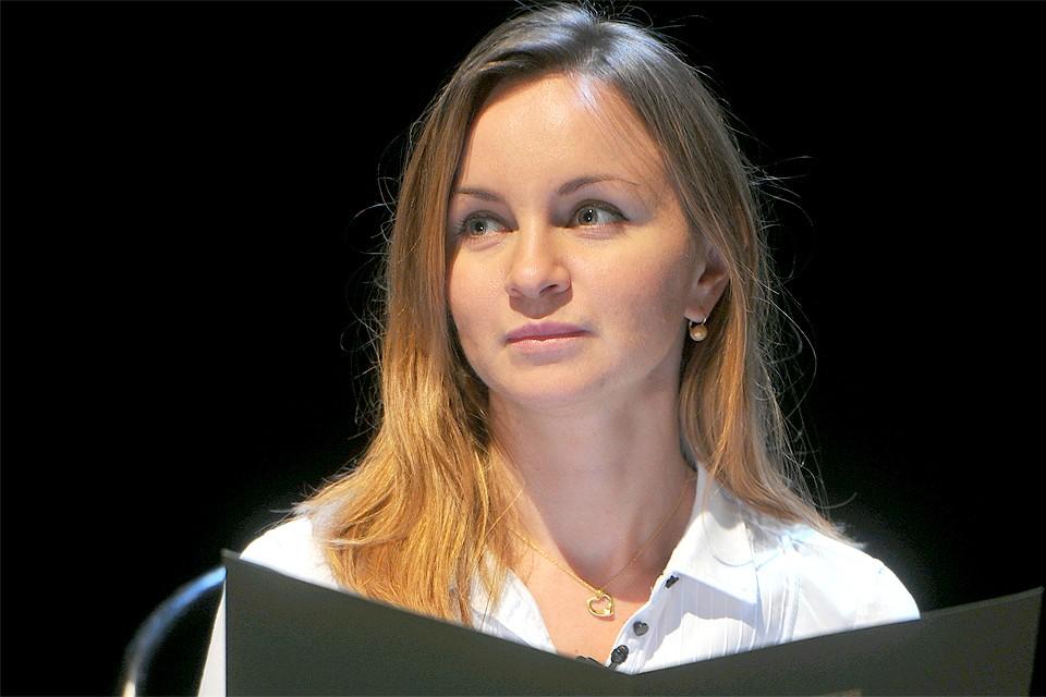 Актриса Ольга Литвинова.