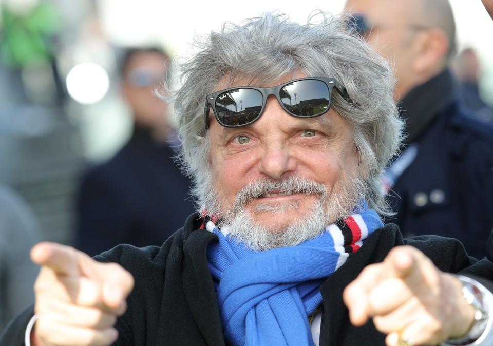 Владелец «Сампдории» Массимо Ферреро