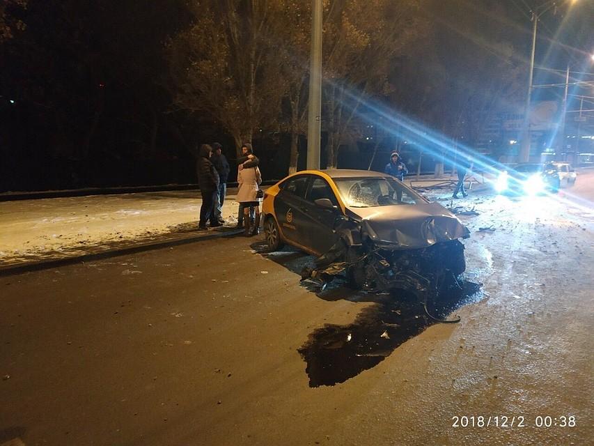 За рулем была девушка  подробности ДТП с каршеринговой иномаркой на  Московском шоссе 69c5f6d7571