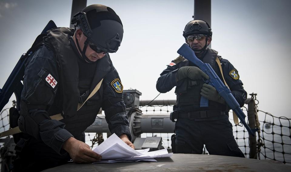 НАТО поможет Грузии в развитии военно-морских сил