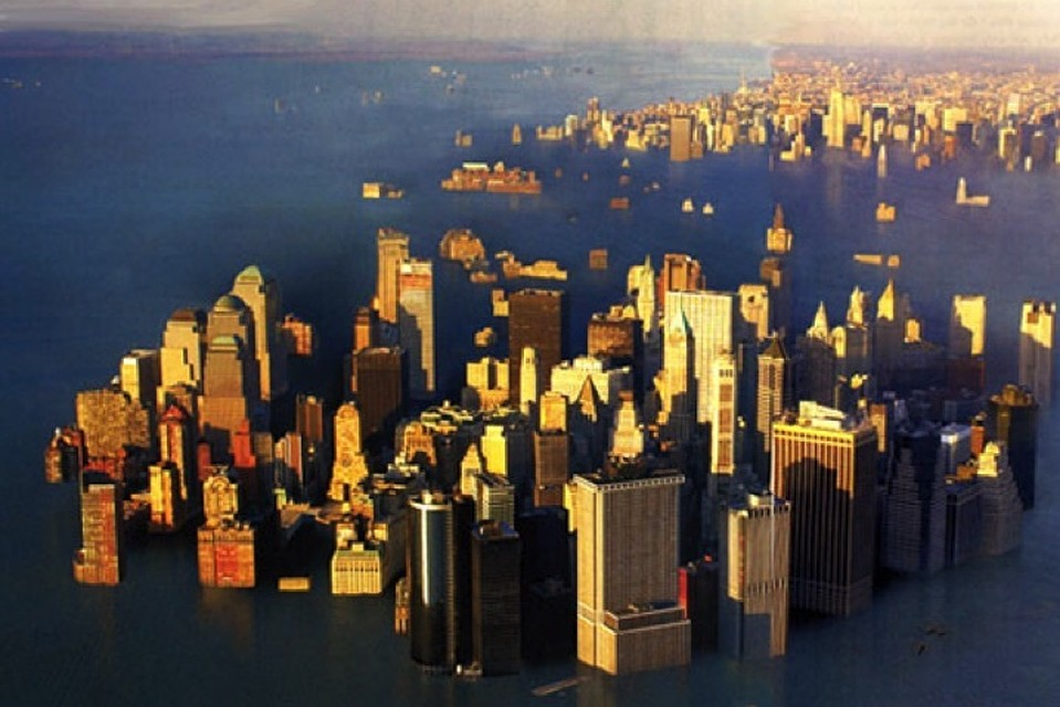 Земля копит воду для нового Всемирного потопа
