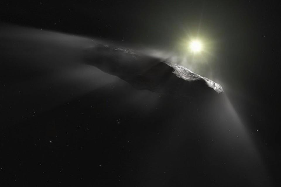 Радиотелескопы почти две недели ловили сигналы с Оумуамуа