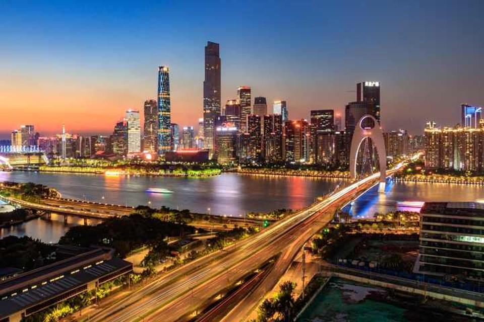 Гуанчжоу, вид на город