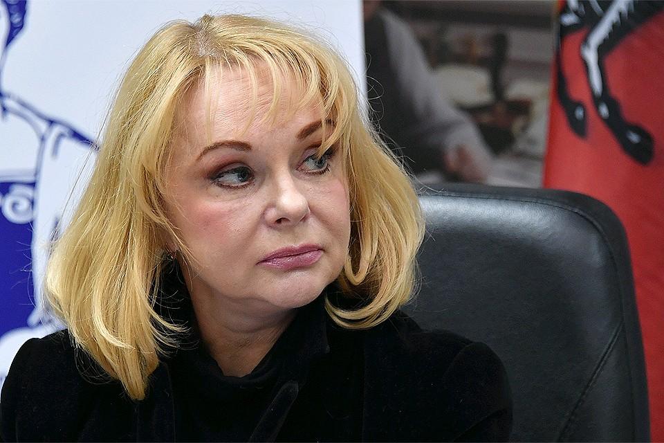 Вдова актера Евгения Евстигнеева Ирина Цывина в 2017 году.