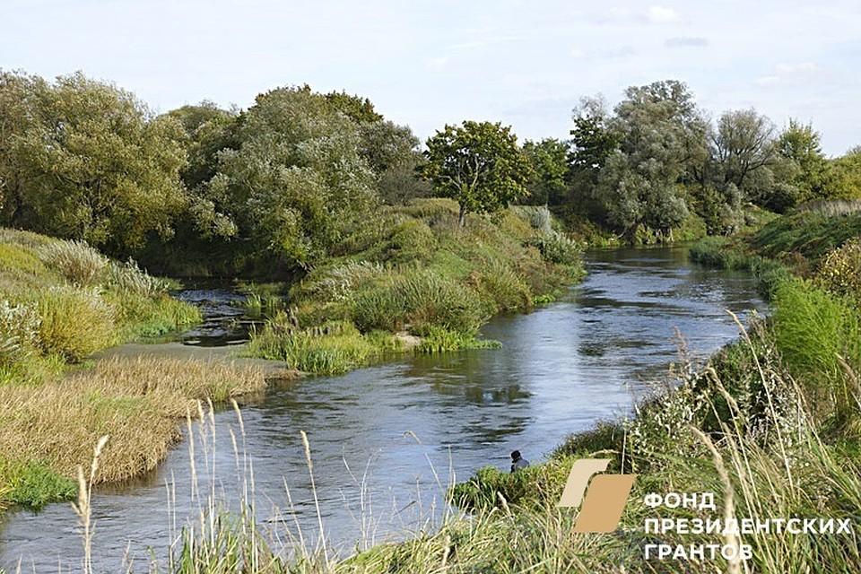 Исток реки Преголи – место слияния Анграпы и Инструча.