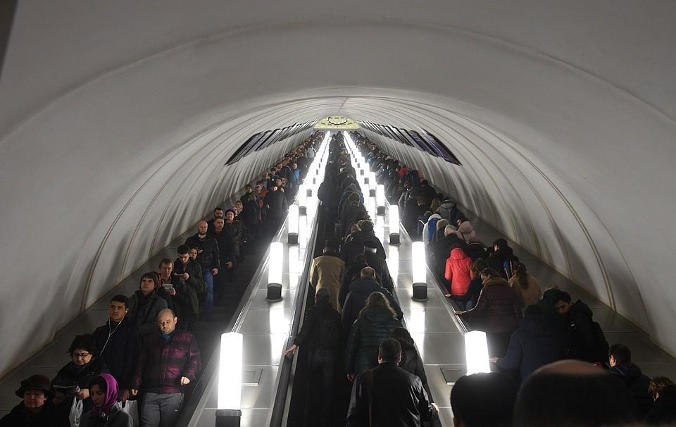 Президент поздравит пассажиров московского метро
