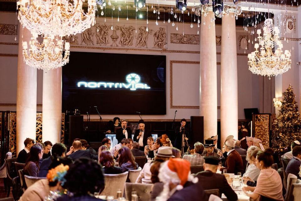 11 декабря состоялась финальная игра 2018 года от NONTRIVIAL CLUB с Александром Друзем. Фото Анны Аникиной.