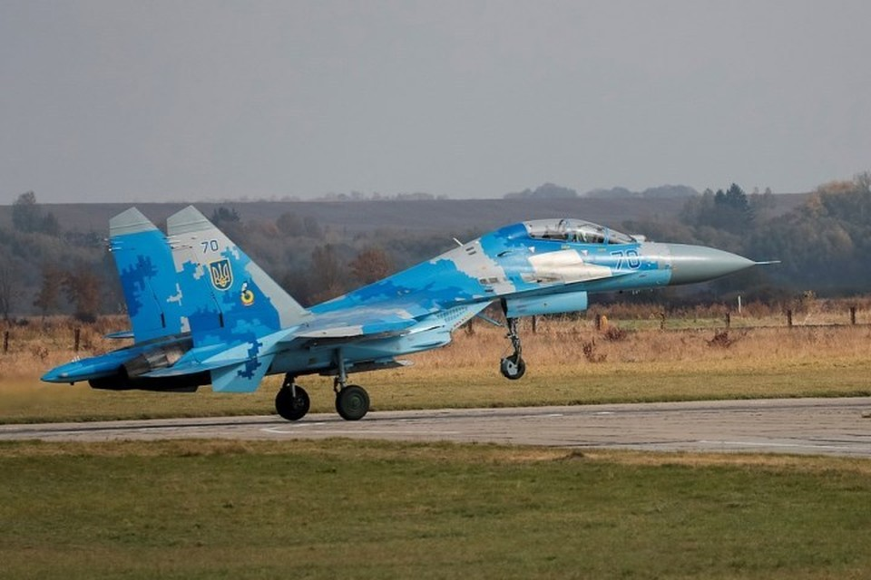 Разбившийся на Украине Су-27 оказался одним из самых новых в стране