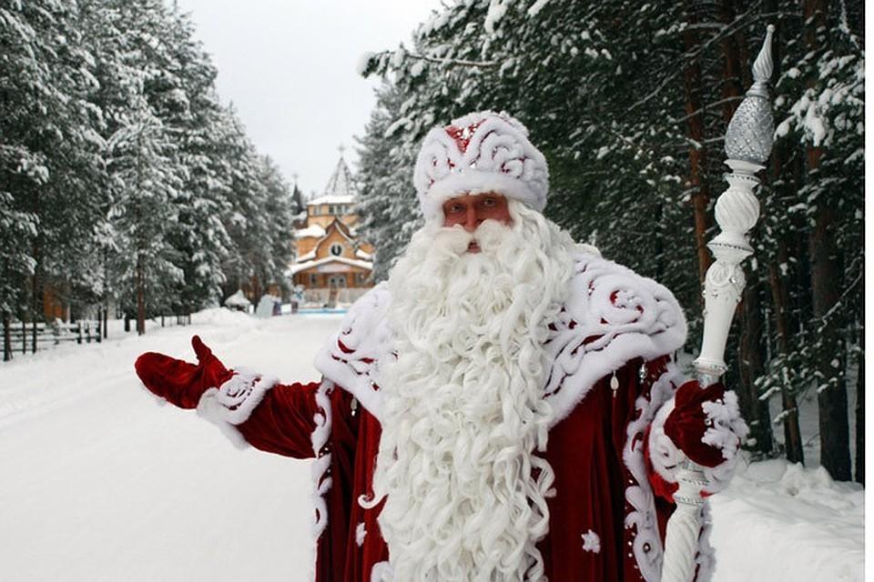 Самым популярным городом у туристов на Новый год стал Великий Устюг. Фото: пресс-служба Деда Мороза