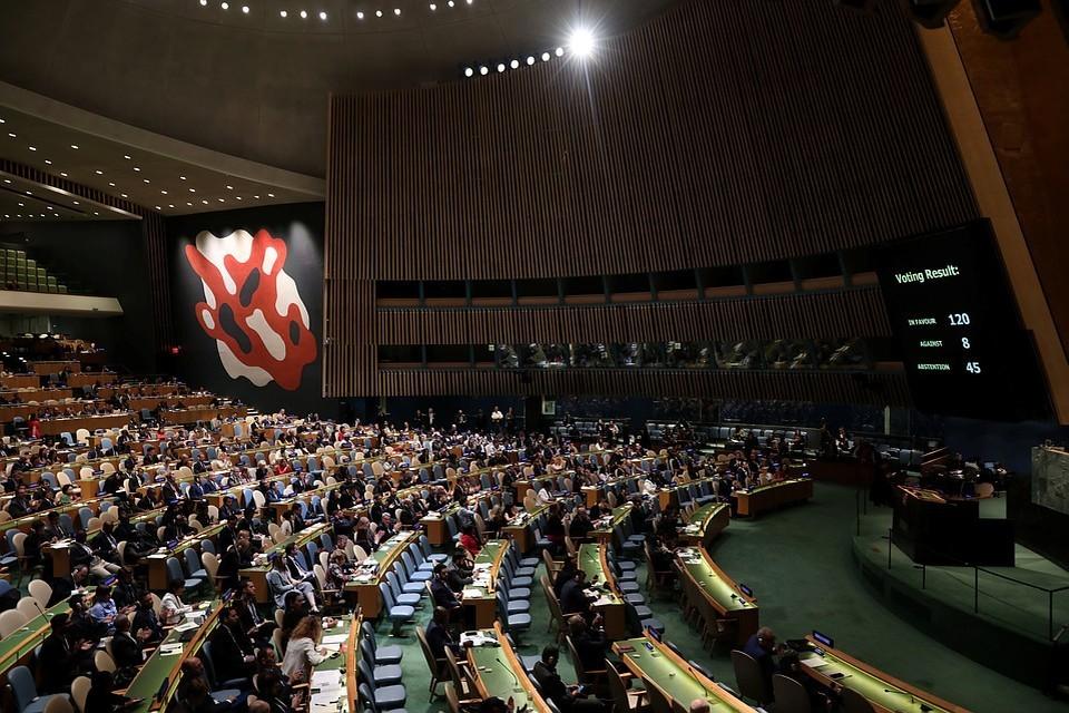 В ООН не одобрили резолюцию о ДРСМД