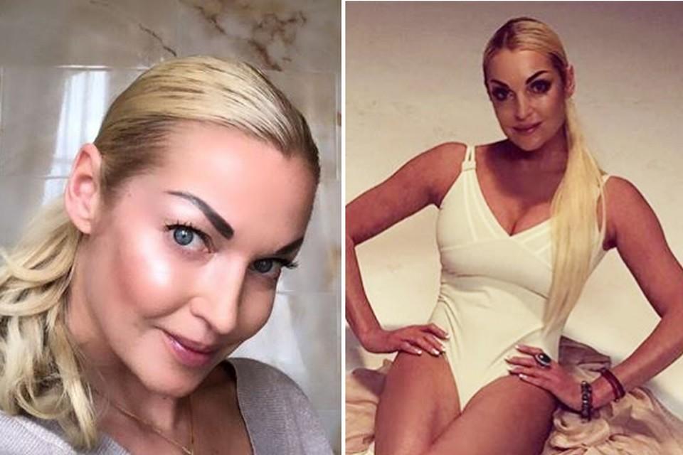 Анастасия Волочкова часто делится в Инстаграме пикантными снимками. Фото: Инстаграм.