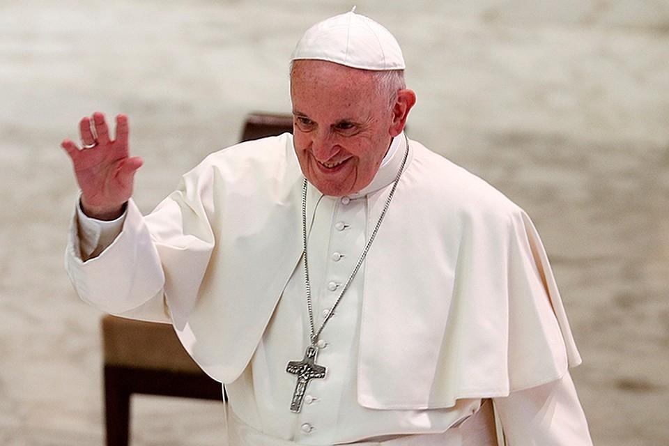 Франциск пожелал мира на земле