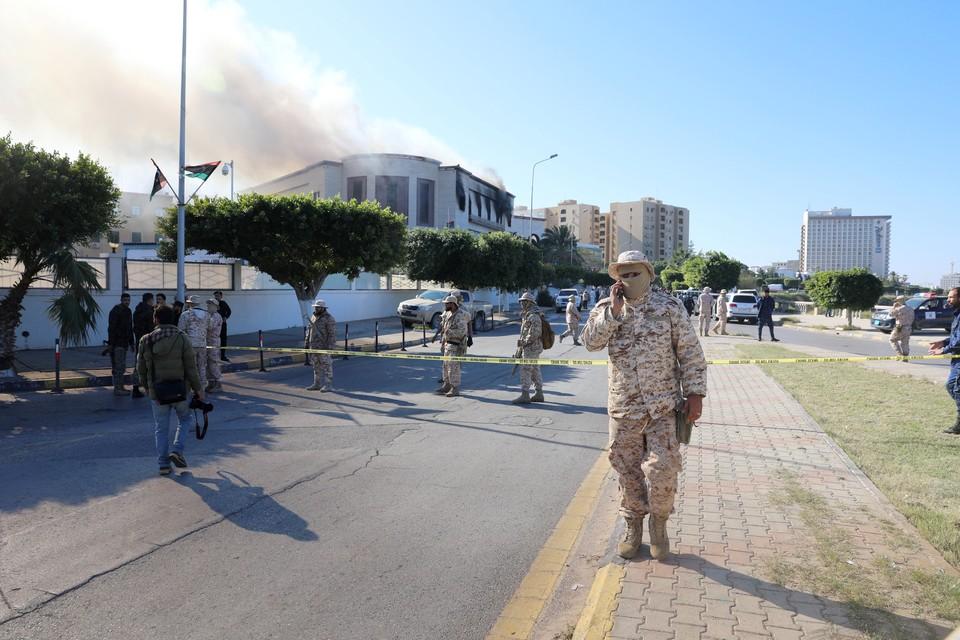 Количество пострадавших при взрыве у здания МИД Ливии достигло 21