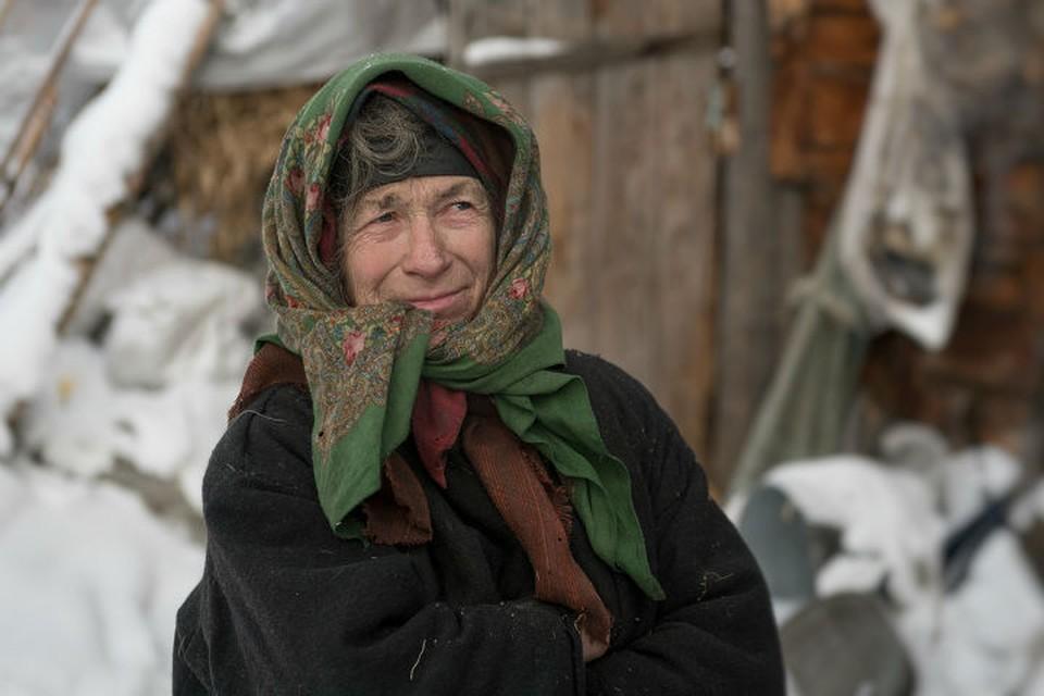 Агафья Лыкова раскрыла тайну своего рождения. Фото: Светлана КАЗИНА.