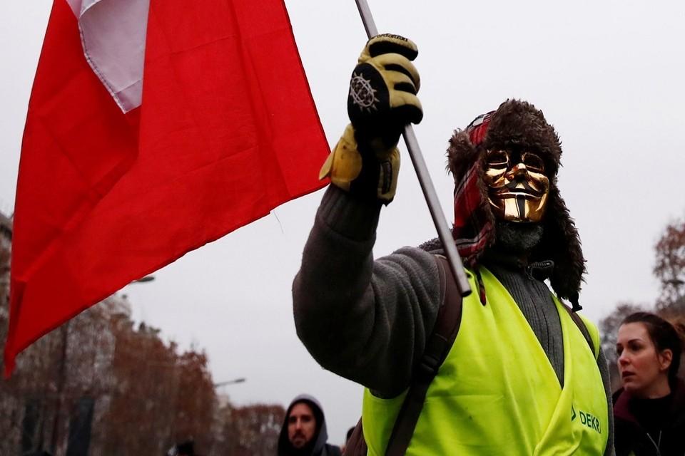 Последняя суббота года принесла новый «акт» протеста движения «Жёлтые жилеты»