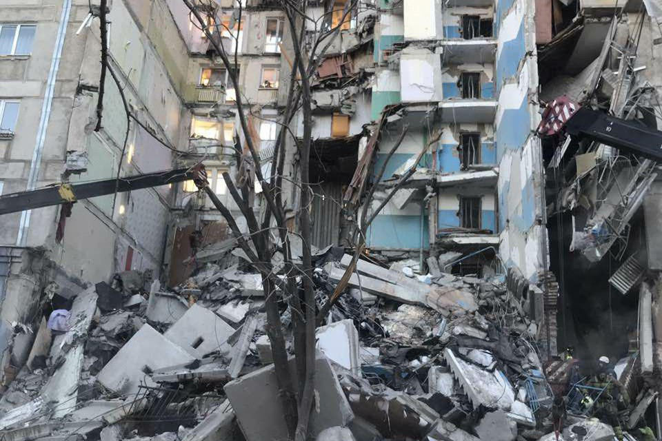 Разбор завалов продолжается. Фото: пресс-служба губернатора Челябинской области.