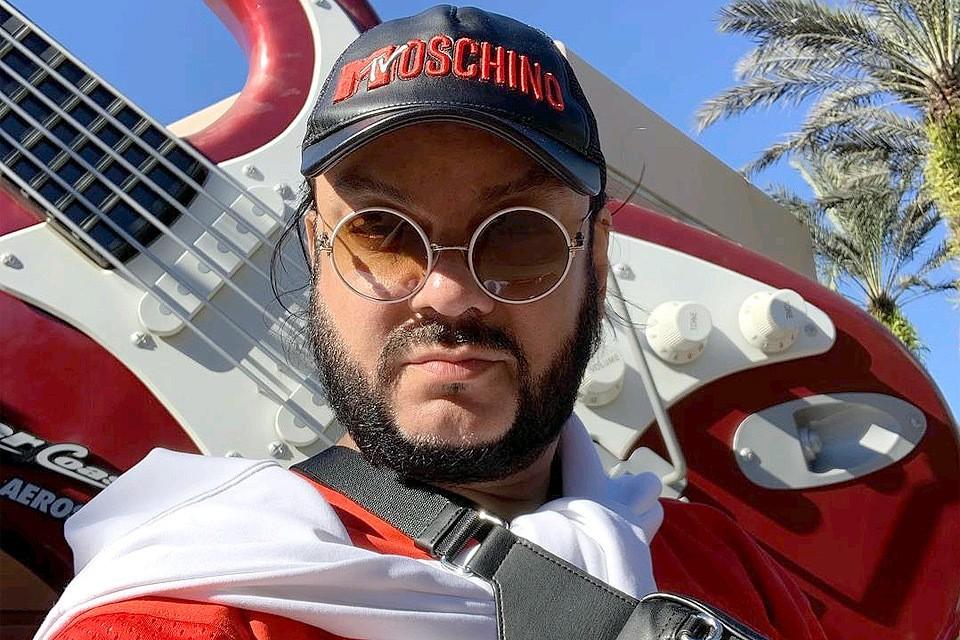 Филипп Киркоров на отдыхе в Майями.