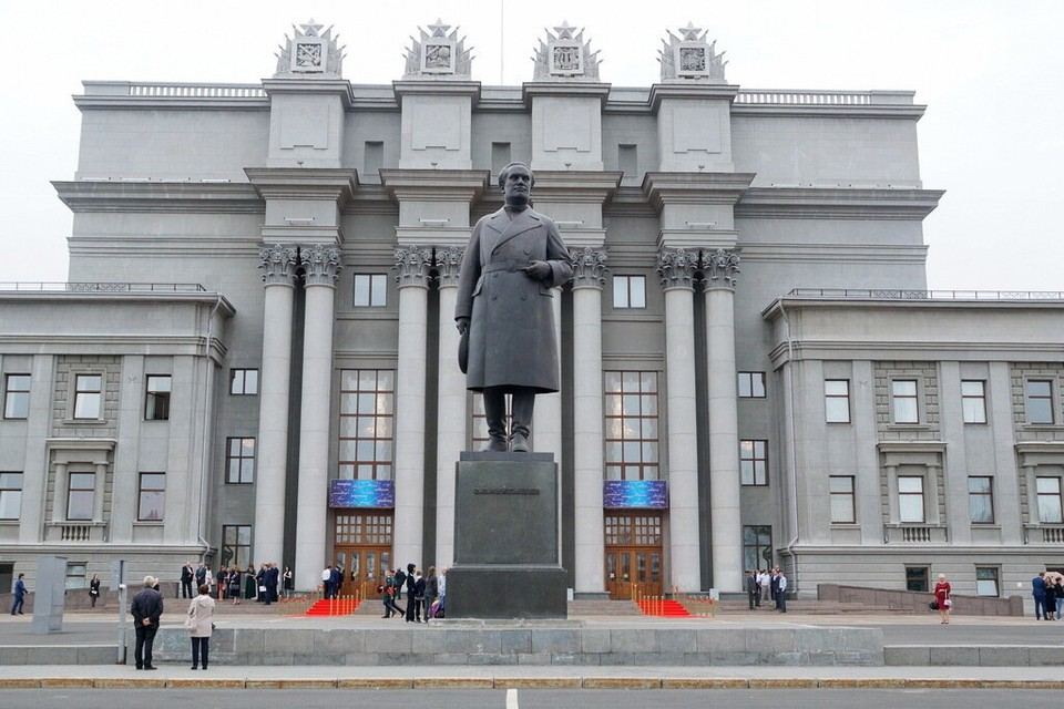 Площадь Куйбышева ремонтировали к Чемпионату мира по футболу
