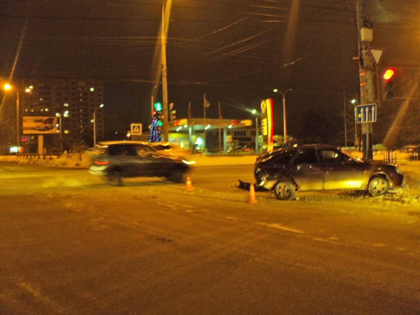 Мичуринск полицейские попали в аварию бмв