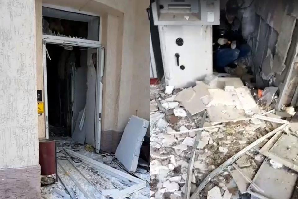 Взрыв произошел в офисе Бинбанка. Сейчас на месте ЧП работают следователи.