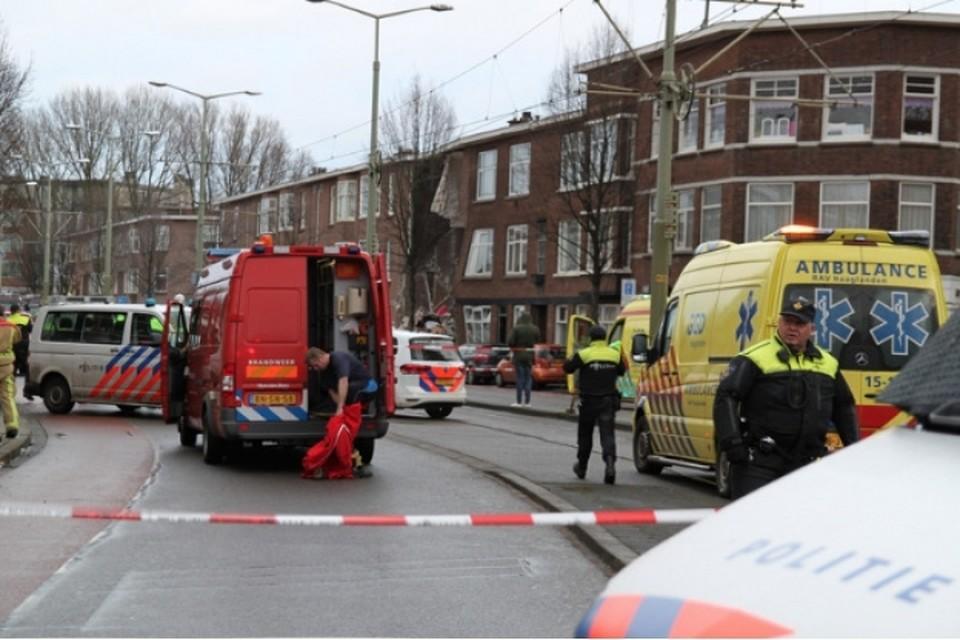 В Гааге в жилом доме прогремел мощный взрыв Фото: District8