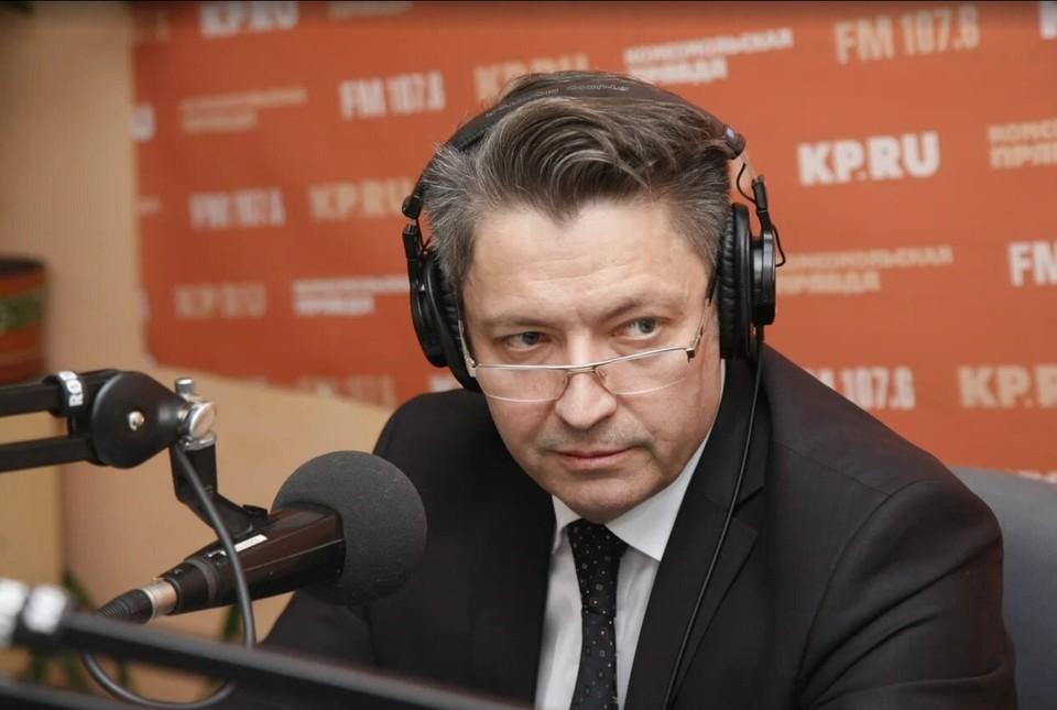 Глава Ижевска Олег Бекмеметьев в гостях радио «Комсомольская правда-Ижевск»