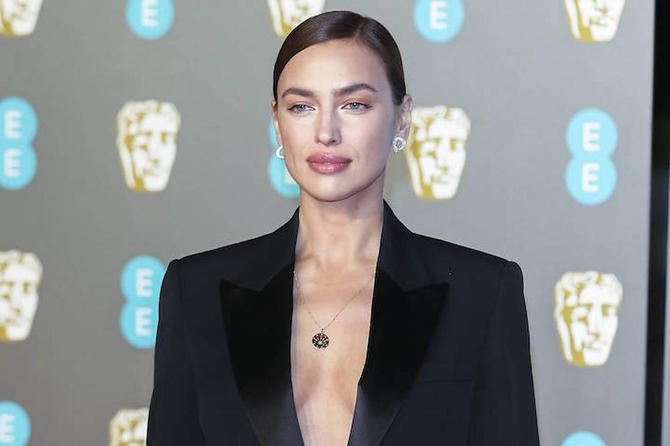 Ирина Шейк на вручении британской кинопремии BAFTA-2019.