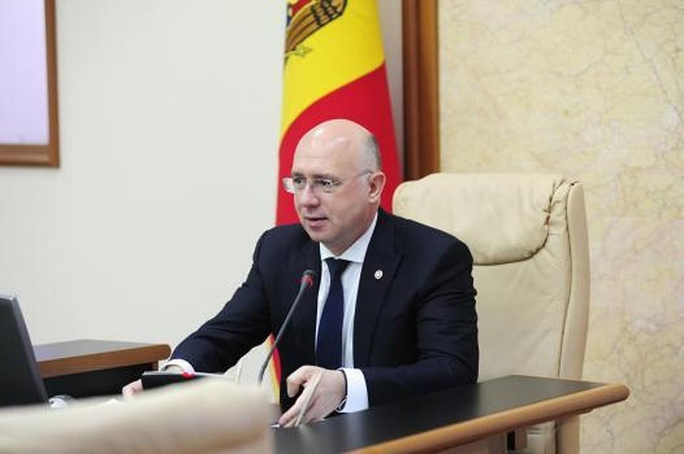Премьер-министр Павел Филип.