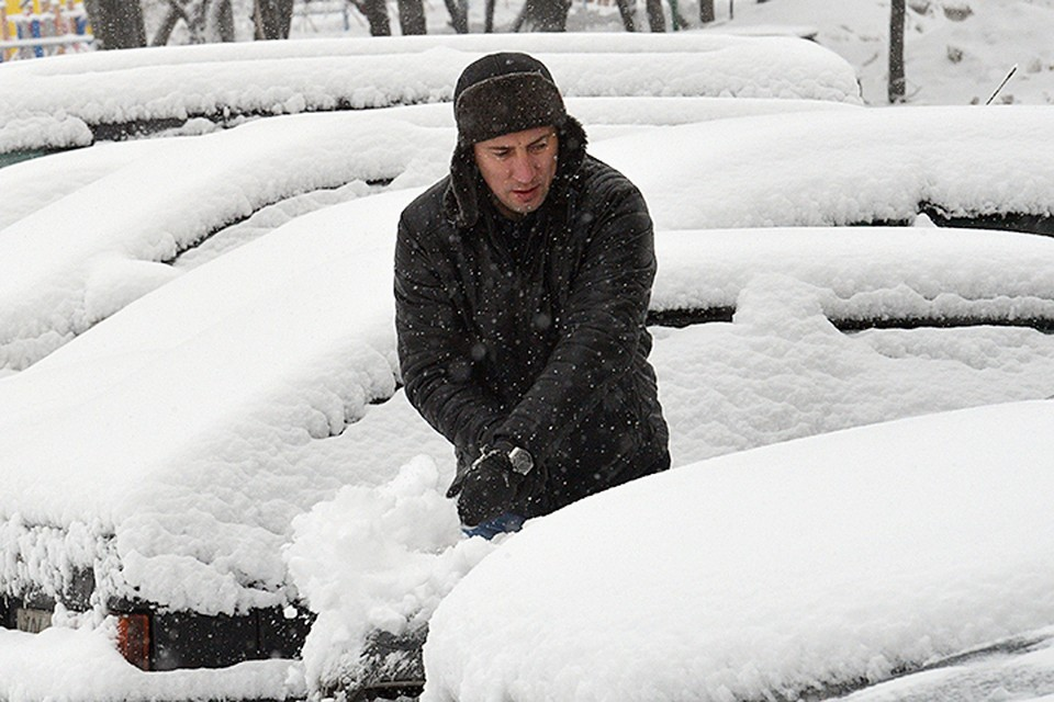 Бывали в столице снегопады и помощнее